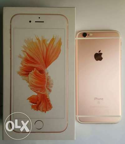 iPhone 6s Rosegold 64GB الحورة -  1