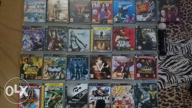 PS3 Games collection for sale المنامة -  1