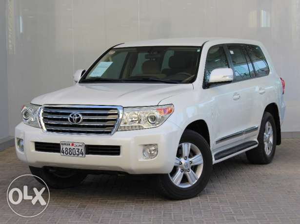 Toyota Land Cruiser 2014 White For Sale