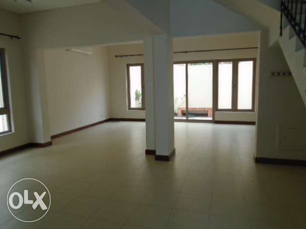 4 Bedrooms semi furnished villa with maid's room