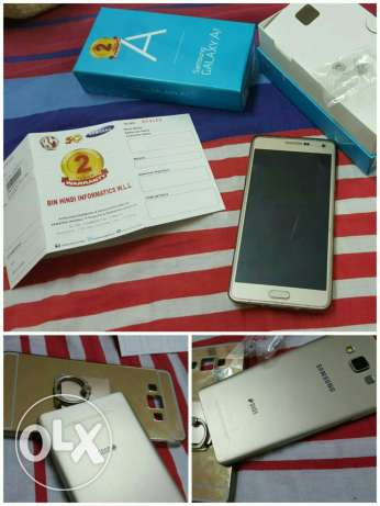 For sale galaxy a7 dual sim like new condition