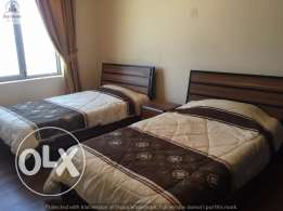 2 bedroom flat in Mahooz/with facilitites fully furnished