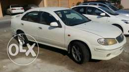 Nissan sunny for rent 120 bd per month