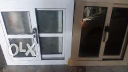 Window with quality glass and made of almunium new
