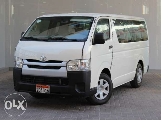 Toyota Haice 2016 White For Sale ()