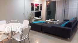1 Bedroom modern furnished apartment with balcony & garden views