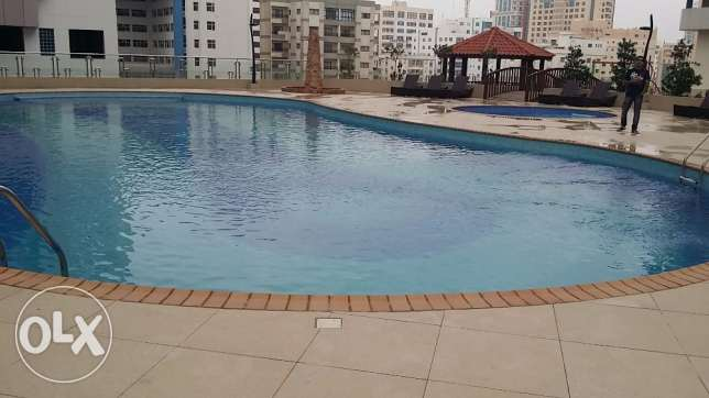 Brand new 2 bedrooms flat with sea view and balcony- BD700 all inclu..
