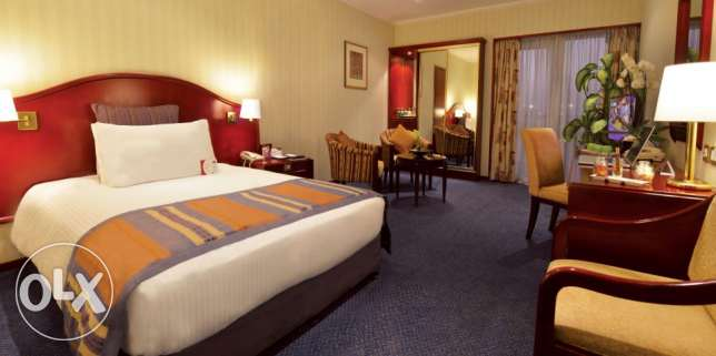 Excellent double occupancy room for avail at Crown plaza Bahrain