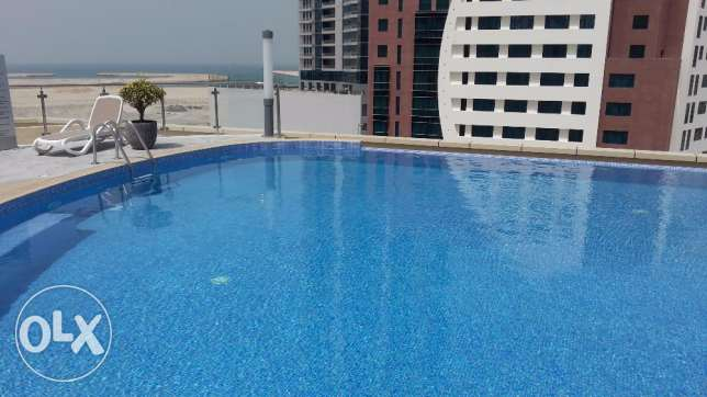 Brand new in Seef / 1 BR / Sea view