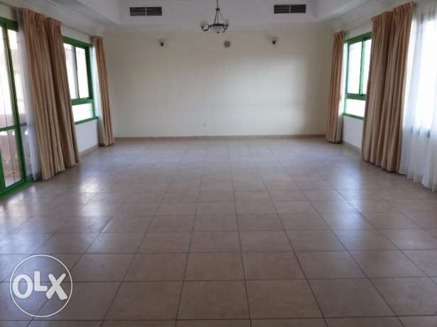 4 bedroom semi furnished apartment inside the compound