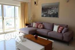 2 Bedroom Amazing flat in Amwaj fully furnished with all facilities