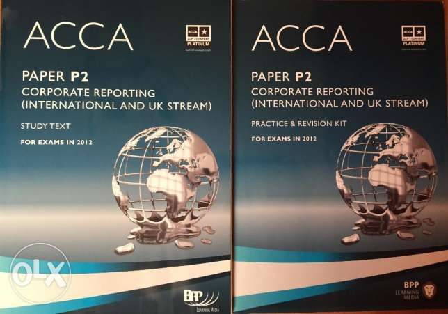 ACCA P2 Corporate Reporting Study and Revision Kit