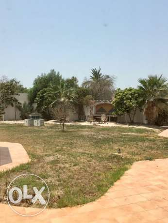villa on 2700 sq Mtrs land Saar