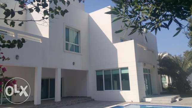 Super Modern Semi Furnished VILLA with private pool for Rental in SAAR