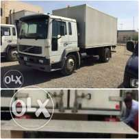 Volvo truck with box and left for sale