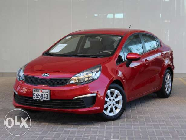 Kia Rio 2016 Red Color For Sale