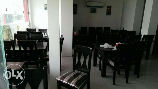 Furnished restaurant