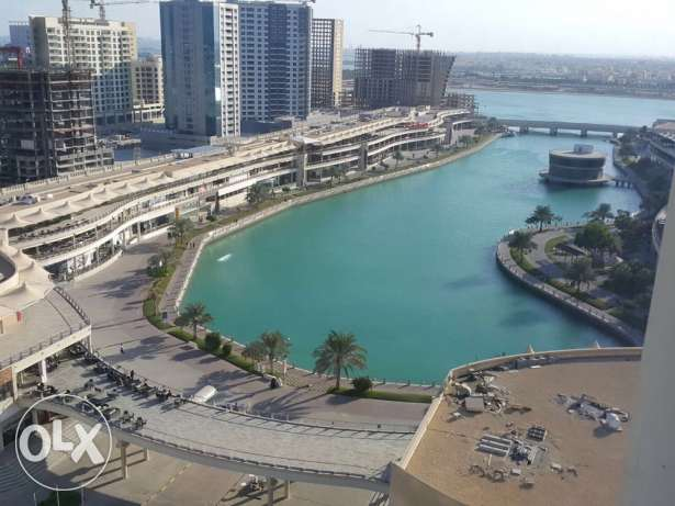 flat 2 bedroom lagoon view in amwaj for rent