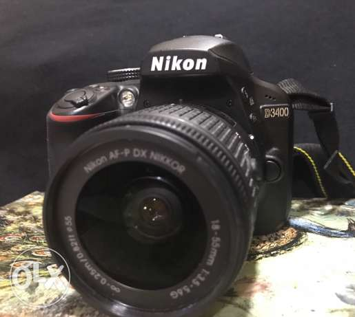 for sale nikon D3400 almost new