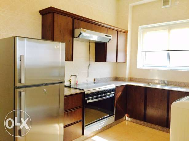 Semi furnished Two bedrooms in Janabiya