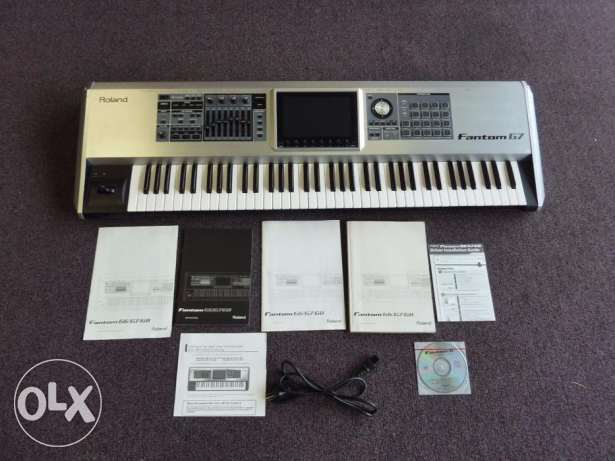 Roland Fantom G7 76 Keys Keyboard