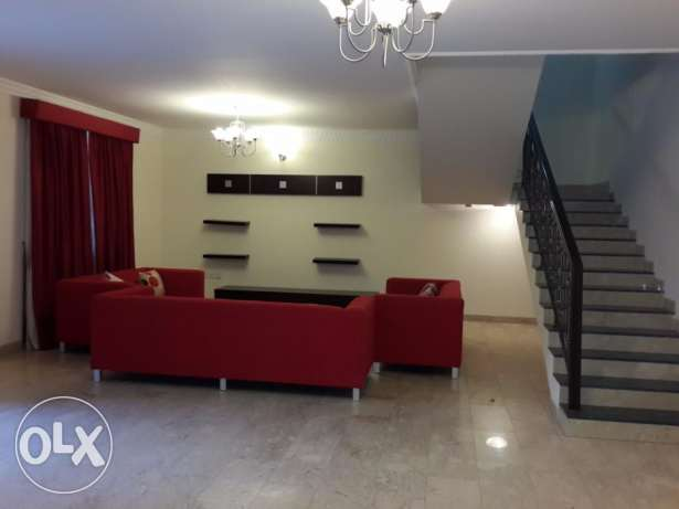 5 Bedroom semi furnished villa for rent - all inclusive