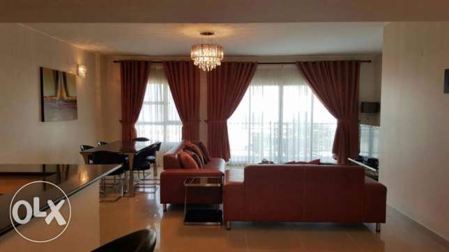 Charming 2 bedrooms apartment with modern furniture and huge balcony
