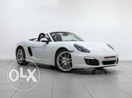 "Porsche Approved Boxster 2016 ""White"""