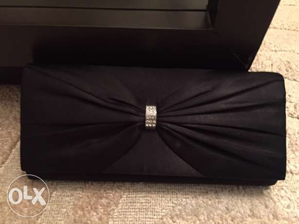 Ladies Clutch bag Black from Accessorize
