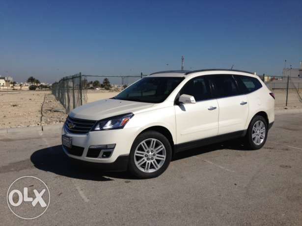 Chevrolet traverse LT 2014 cood condition