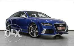 Audi Approved RS7 V8 quattro 2014 Blue