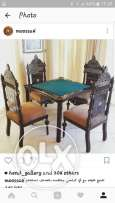 Only from Jan. 21 till Jan. 25 Bridge table and chairs