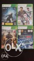 XBOX 360 Games for 5 BD