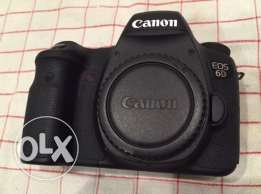 canon Eos 6d with warranty and accessories