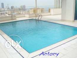 Modernly furnished, Sea View, beautiful & spacious apartment