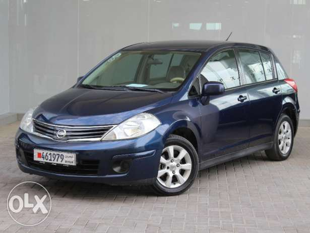 Nissan Tida 1.6L hatch back 2013 Blue For Sale