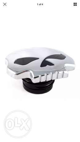 Chrome Skull (vented) Gas Cap.