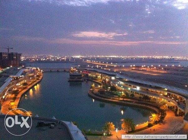 flat 2 bedroom for rent in amwaj lagoon view