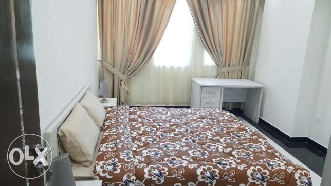 For rent brand new Two BR flat / Gym + pool البسيتين -  4