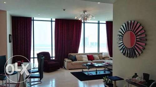 Exquisite 2 Br full furnish apt for sale in Seef with amazing view
