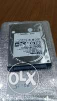 New 500GB hard disk