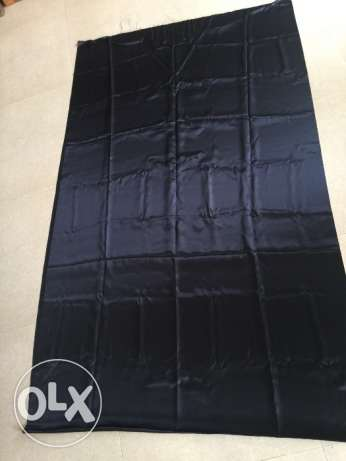 Black fabric for sale!! 380cmx110cm