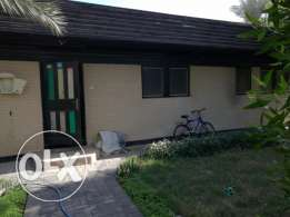 Delightful 3 bedroom wooden Villa semifurnished for rent at Jannusan
