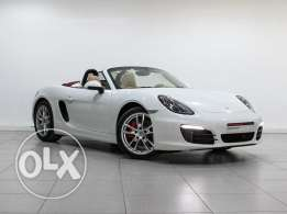Porsche Boxster S Approved white 2016MY