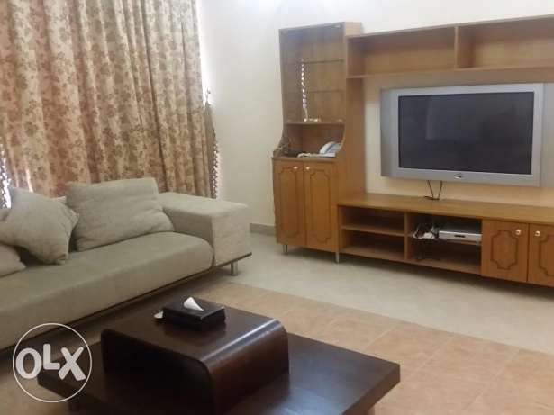 One bedroom luxury furnished apartment in Sanabis near major malls