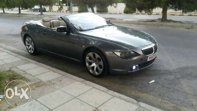 BMW 650i convertible low mileage
