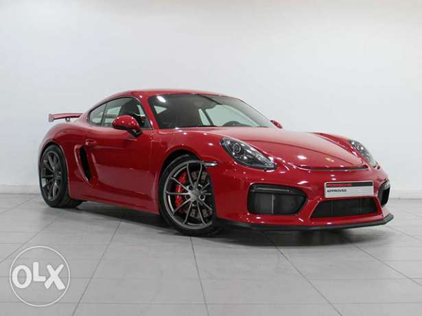 "Porsche Cayman GT4 2016MY Manual ""Approved"""