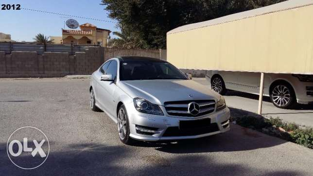 2012 model Mercedes C 250 Coupe