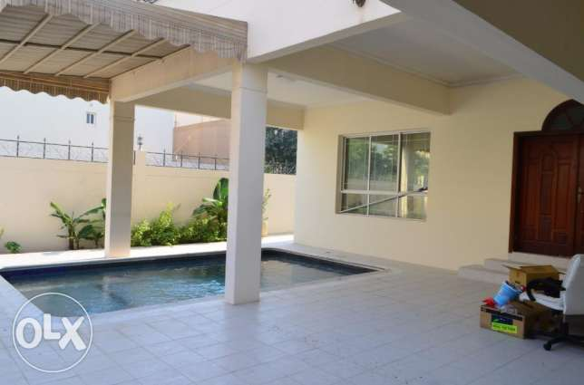 5 Bhk spacious villa with private pool for rent