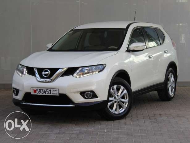 Nissan X-Trail SUV 2.5L 2WD 2016 White For Sale